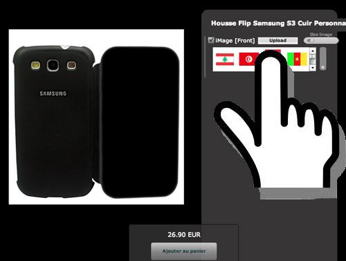 Tuto, telechargement de votre image pour la personnalisation de votre smartphone.
