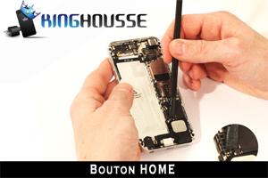 Reparation Bouton Home pour iPhone 5 tuto en ligne.