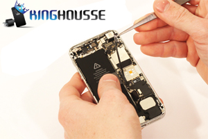 Remplacement bouton Home iPhone 5 étape 16.