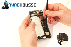 Remplacement bouton Home iPhone 5 étape 21.