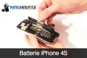 Reparation de la Batterie iPhone 4S.