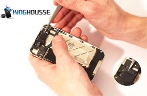Remplacement complet écran iphone 4S étape 20.