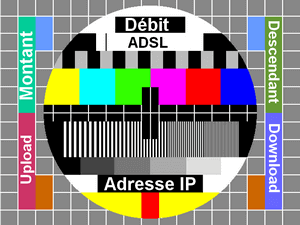 Mire ADSL - Illustration pour test mire ADSL